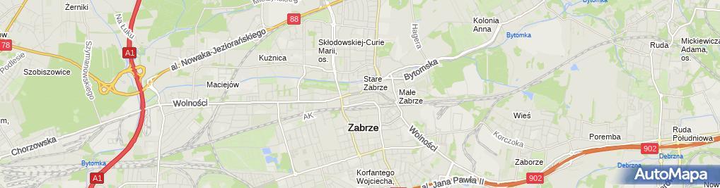 Zdjęcie satelitarne BNP Paribas - Wpłatomat