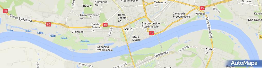 Zdjęcie satelitarne Apartamenty Molus