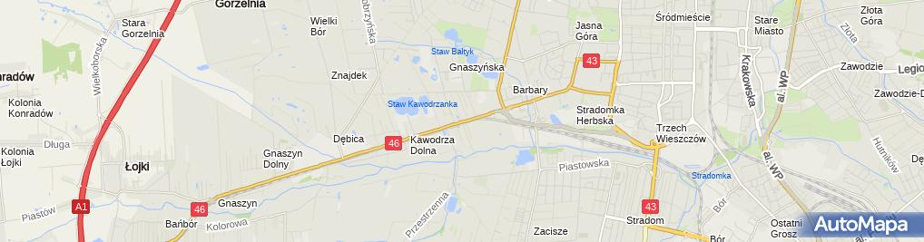 Zdjęcie satelitarne Bosch Service - Serwis samochodowy