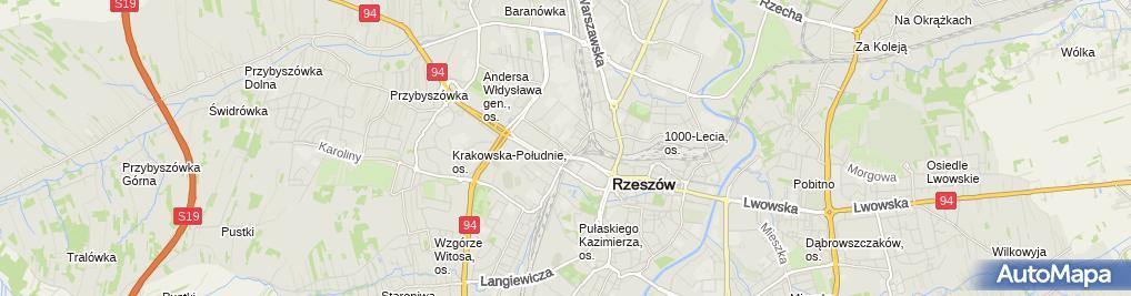 Zdjęcie satelitarne Firma Produkcyjno Usługowo Handlowa Ekspert Irena Dziedzic Krzys