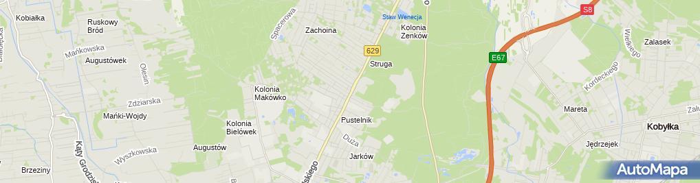 Zdjęcie satelitarne Metro-Met