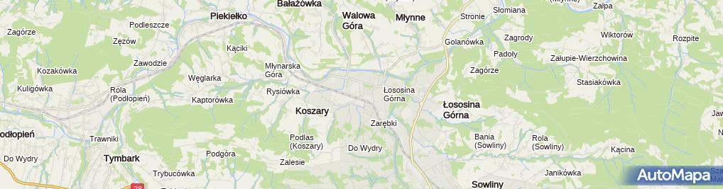 Zdjęcie satelitarne Zakład Transportu i Handlu
