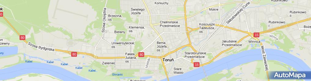 Zdjęcie satelitarne Agromar