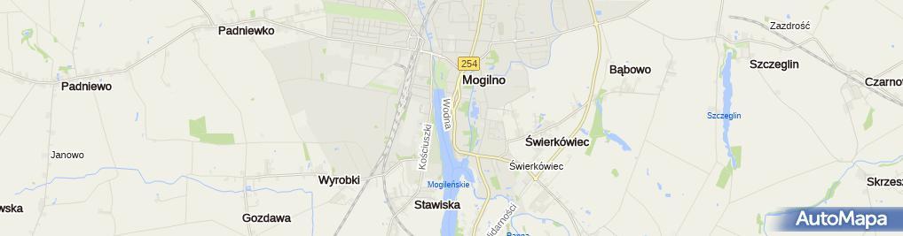 Zdjęcie satelitarne Al-Złom Gretkowski Arkadiusz