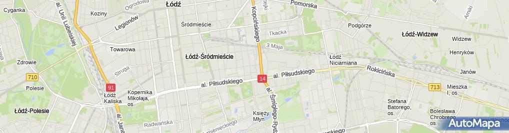 Zdjęcie satelitarne Altfloor Paweł Kapela