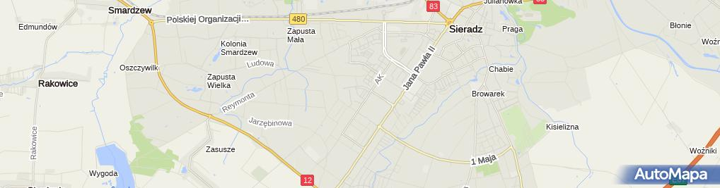 Zdjęcie satelitarne Andrzej Kaczmarek