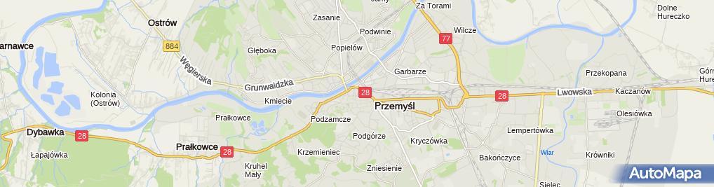 Zdjęcie satelitarne Andrzej Oleś Zakład Remontowo-Budowlany
