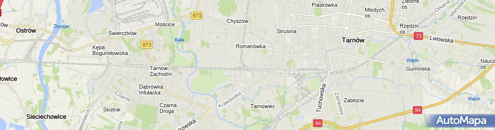 Zdjęcie satelitarne Andrzej Strzesak