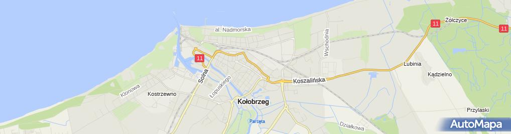 Zdjęcie satelitarne Ar Bud Przeds Usł Handl Prod Adam Łochocki Robert Weprzędz