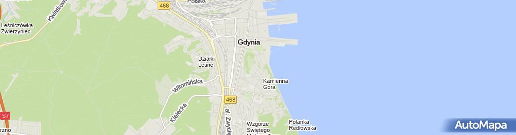 Zdjęcie satelitarne Biuro Obsługi Inwestycji Budowlanych Bartosz Pietrzykowski