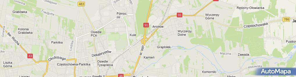 Zdjęcie satelitarne BJK