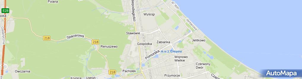 Zdjęcie satelitarne BRB Grzegorz Dżas