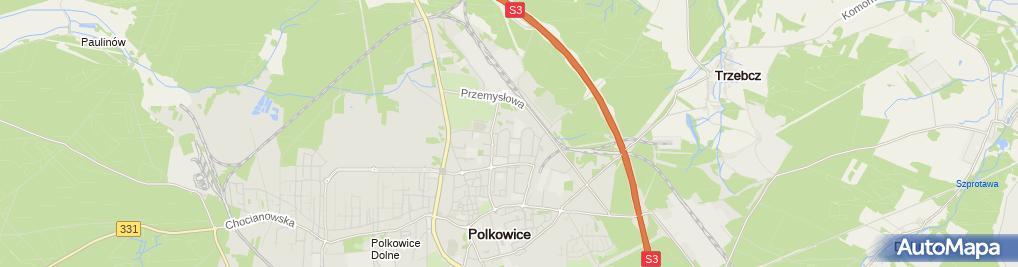 Zdjęcie satelitarne Budermo Usługi Ogólnobudowlane Paweł Krzeszowski