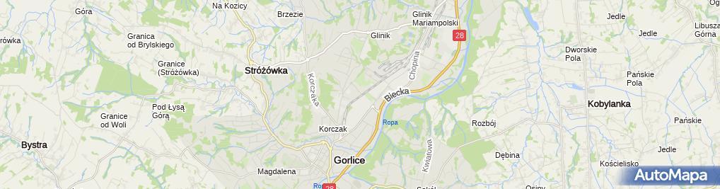 Zdjęcie satelitarne Byczek Marek Firma Budowlana Wielobranżowa Marbud
