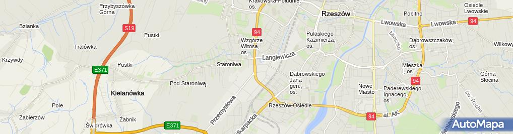 Zdjęcie satelitarne DASZER - drewniane domy szkieletowe