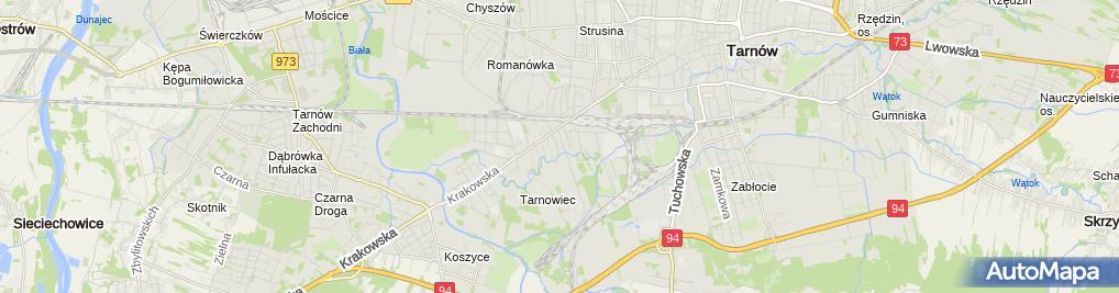 Zdjęcie satelitarne Domar - Przedsiębiorstwo Handlowo Usługowe Leszek Bogusz
