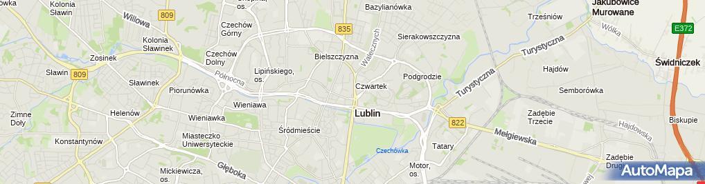 Zdjęcie satelitarne Duda Rafał Werka