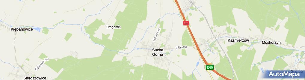 Zdjęcie satelitarne Dudek-Meble Na Wymiar Piotr Dudek