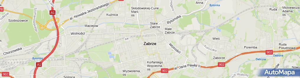 Zdjęcie satelitarne Dziedzic Władysław Dziedzic Grzegorz SPC Zakład Remontowo Budowlany
