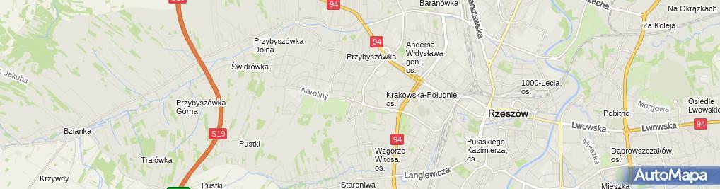 Zdjęcie satelitarne Dziedzic Zygmunt, Firma Remontowo-Budowlana Dez-Bud Zygmunt Dziedzic