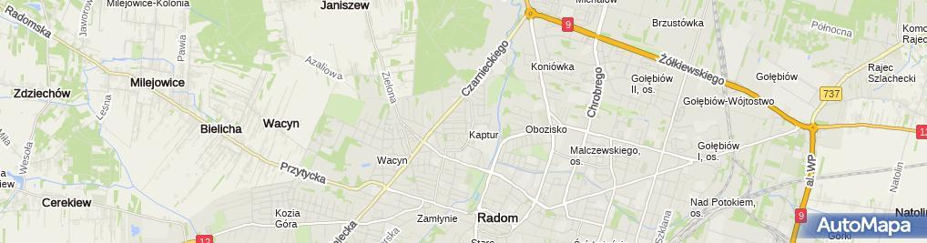 Zdjęcie satelitarne Elektrobudex