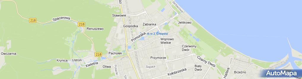 Zdjęcie satelitarne Emstal w Likwidacji
