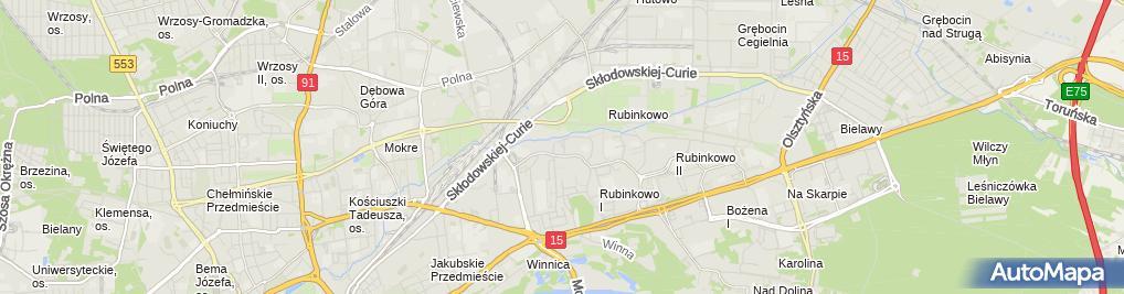 Zdjęcie satelitarne Estech