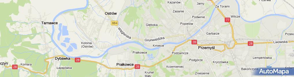 Zdjęcie satelitarne Ewa Cichońska Zakład Remontowo-Budowlany Mec