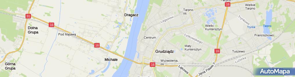 Zdjęcie satelitarne F.H.U.Probud.Jarosław Szeligowski
