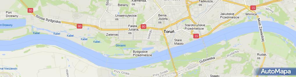 Zdjęcie satelitarne Faxpol Mirosław Lisewski