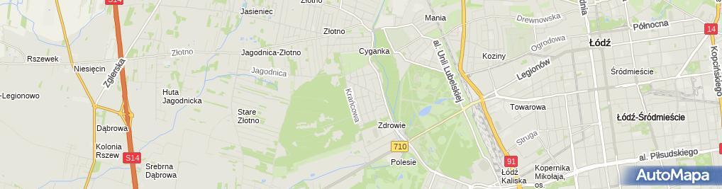 Zdjęcie satelitarne Feedback ID Poland