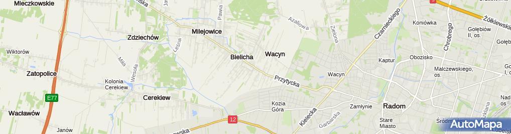 Zdjęcie satelitarne Firma Budowlana Es - Bud Robert Szyszkowski