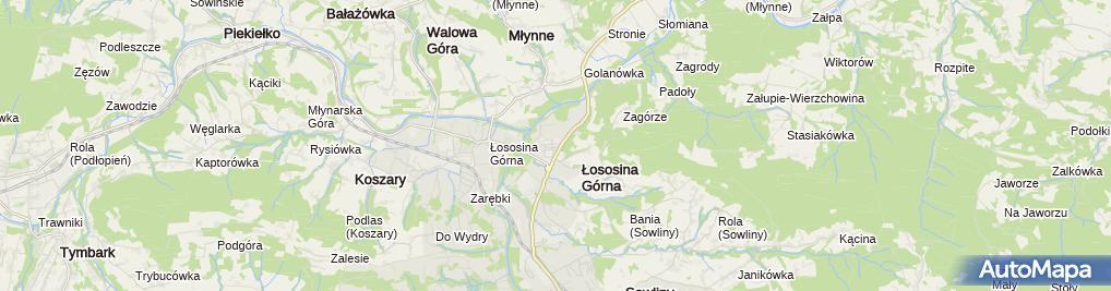 Zdjęcie satelitarne Firma Budowlana Kos-Bud Krzysztof Ćwik