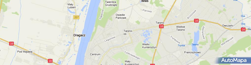 Zdjęcie satelitarne Firma Budowlana
