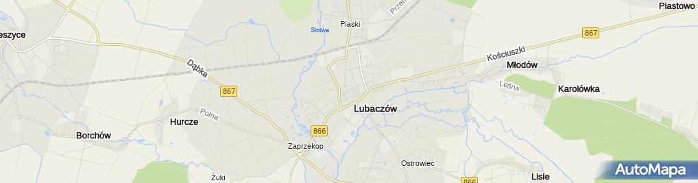 Zdjęcie satelitarne Firma Handlowo-Usługowo-Finansowa Grzegorz Powroźnik