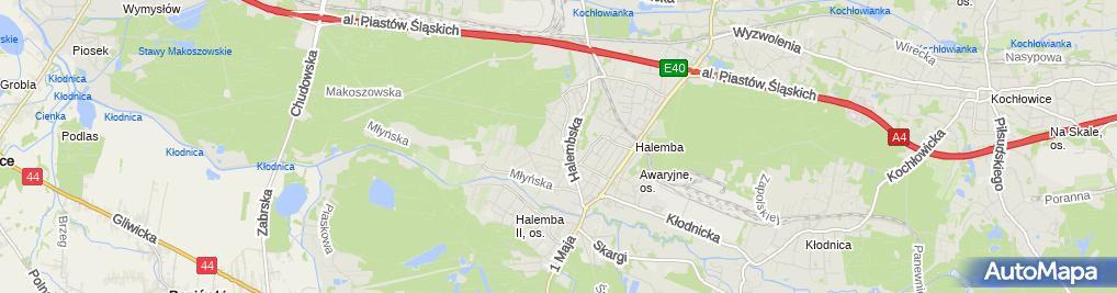 Zdjęcie satelitarne Firma Jarzombek Zakład Usługowo-Handlowy