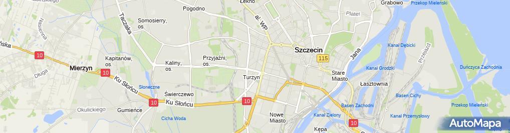 Zdjęcie satelitarne Firma Ogólnobudowlana