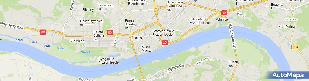 Zdjęcie satelitarne Firma Produkcyjno Handlowo Usługowa Borbud