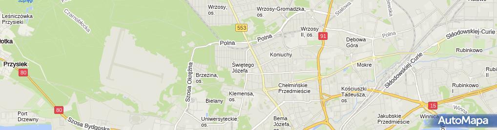 Zdjęcie satelitarne Firma Remontowo - Budowlana Waldemar Nadachewicz