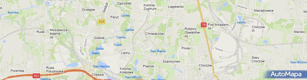 Zdjęcie satelitarne Firma Trepbud Usł Remont Budowl Promocyjne Sprzedaż
