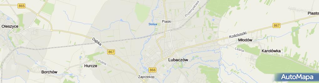 Zdjęcie satelitarne Firma Usługowa Andrzej Hass