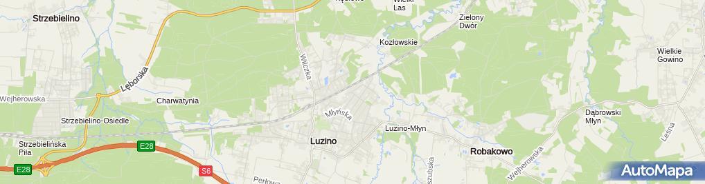 Zdjęcie satelitarne Firma Usługowo - Handlowa Krzysztof Stefanowski
