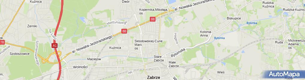 Zdjęcie satelitarne Firma Usługowo Handlowa Pol Max