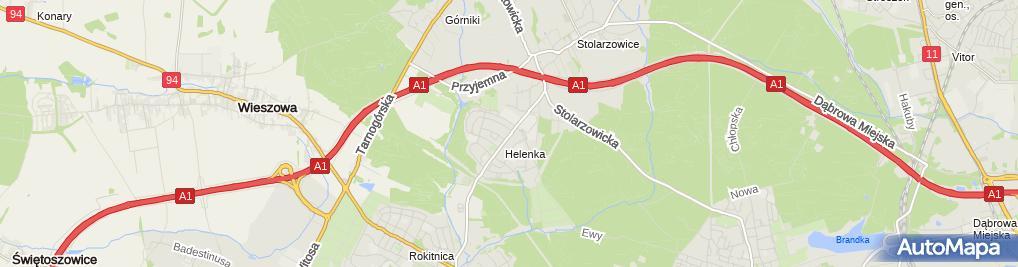 Zdjęcie satelitarne Firma Usługowo Handlowa Vojtex
