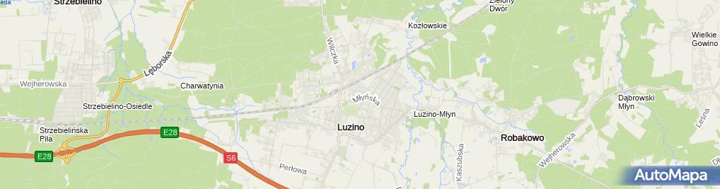 Zdjęcie satelitarne Firma Usługowo Produkcyjno Handlowa Instal - Bud Jerzy Labudda
