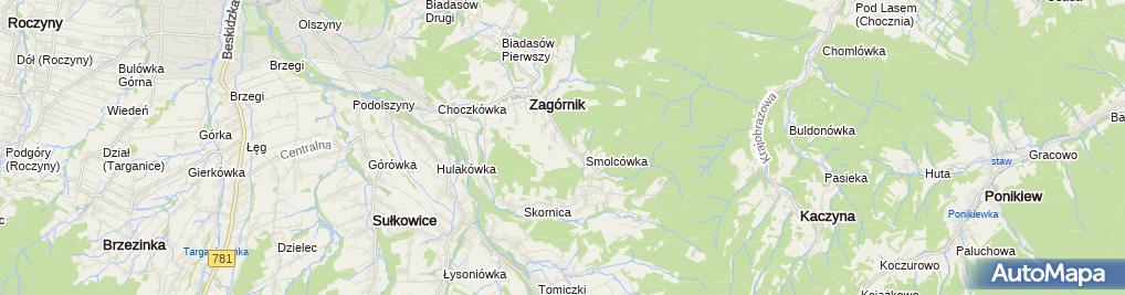 Zdjęcie satelitarne FRB Spec-Bud Tomasz Smolec