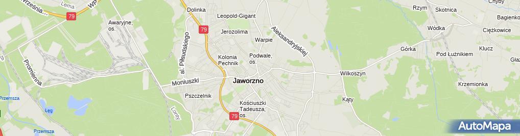 Zdjęcie satelitarne Grupa Kapitałowo Inwestycyjna Galicja