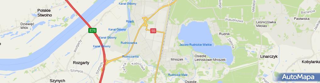 Zdjęcie satelitarne Grustal Wielobranżowe Zakłady Produkcji Prefabrykatów
