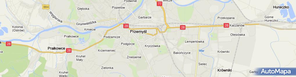 Zdjęcie satelitarne Grzegorz Golański Usługi Remontowo-Wykończeniowe