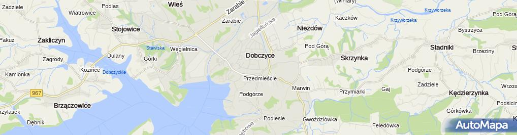 Zdjęcie satelitarne Grzegorz Piwowar Usługi Remontowo- Budowlane